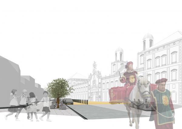 El projecte prioritza els peatons - Cervera