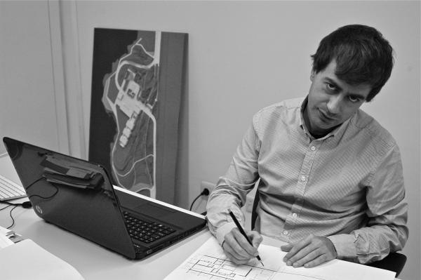 L'arquitecte Xavier Robert - Cervera