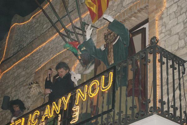 05.01.2013 Arribada dels Reis d'Orient  Sant Guim de Freixenet -  Consell Comarcal de la Segarra