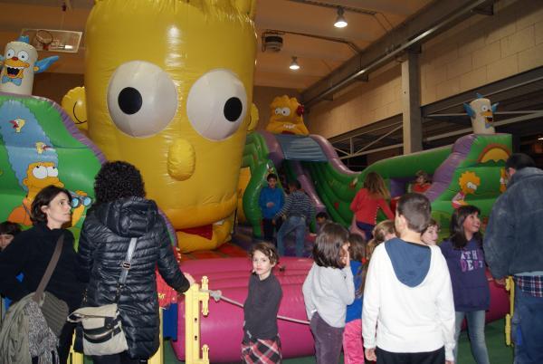 04.01.2013 Prop de 150 nens i nenes gaudeixen del Parc de Nadal   Sant Guim de Freixenet -  Consell Comarcal de la Segarra