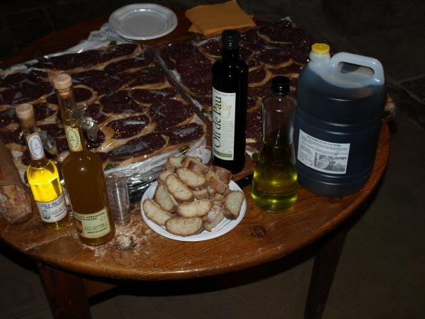 olis, embotits, xocolata i pa artesà, protagonistes del tast