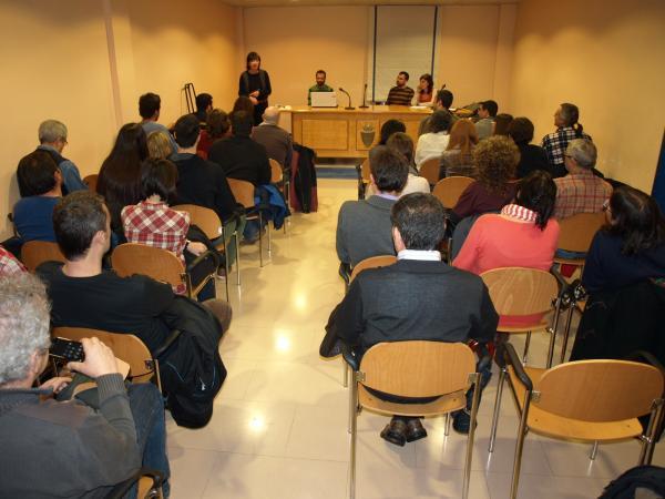 19.01.2013 presentació de la PAF a Agramunt  Agramunt -  Jaume Moya