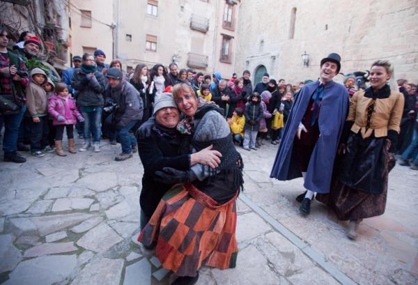 El brut i la bruta Foto: xavi santesmasses - Torà