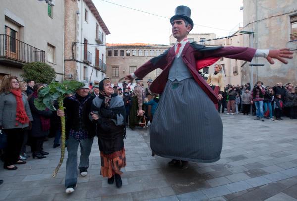 02.02.2013 Ball dels gegants  Torà -  xavi santesmasses