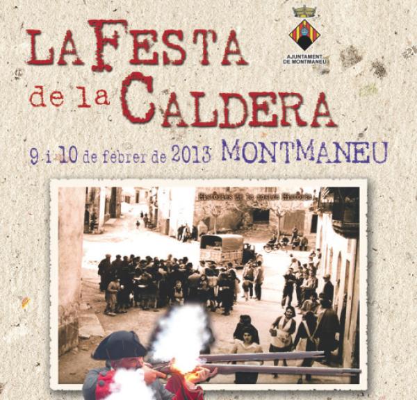 cartell Festa de la Caldera 2013