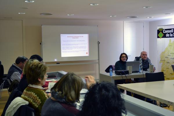 14.02.2013 Presentació del Centre de Recursos per a persones amb discapacitat   Cervera -  CC Segarra