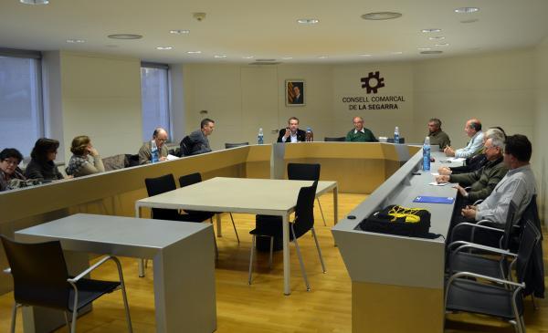 """15.02.2013 Conferència """"Som el que mengem"""", a càrrec del Sr. Menna Balaguer  Cervera -  CC Segarra"""