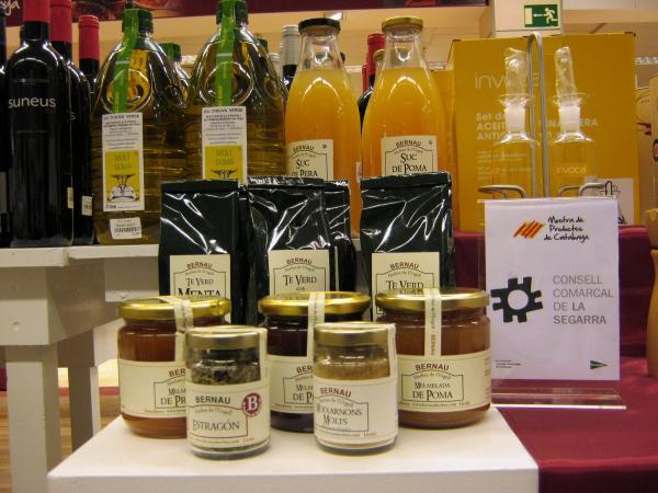 18.02.2013 Mostra de productes agroalimentaris de la Segarra al Corte Inglés  Barcelona -  CC Segarra