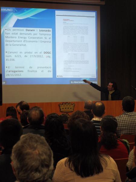 explicació sobre els anuncis publicats al DOGC, per part de Jaume Moya - Guissona