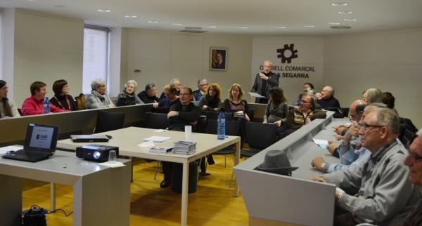 27.02.2013 sessions informatives sobre serveis per la millora de l'atenció domiciliària a la gent gran de la comarca  Cervera -  CC Segarra