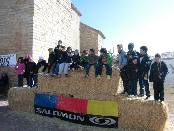 24.02.2013 Alumnes del Fedac-Guissona participants de la cursa SantRUNmon infantil   Sant Ramon -  CC Segarra
