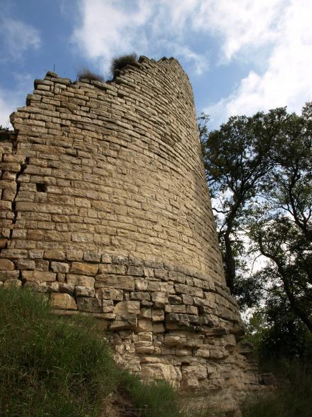Torre de l'antic castell de Gàver - Gàver