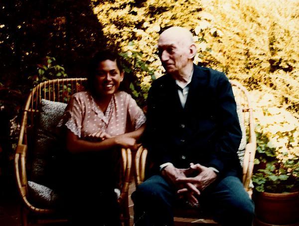 La pianista Eugènia Gassull i Frederic Mompou -