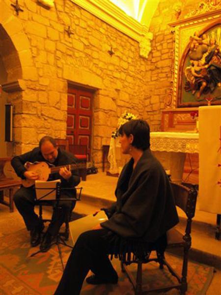 02.03.2013 concert de veu i vihuela a càrrec d'Esther Castells i Alfred Fernàndez  Florejacs -  Ajuntament TF