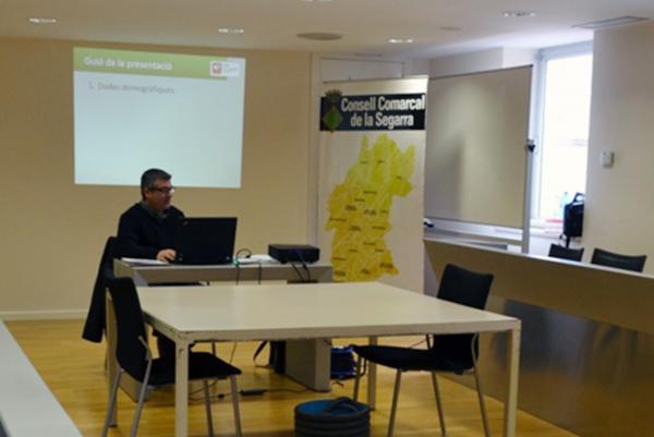Presentació de la memòria del Servei d'orientació i assessorament jurídic en matèria d'estrangeria gestionat per CITE - Cervera