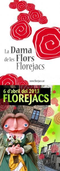 Cartell oficial de la vuitena Fira de Florejacs - Florejacs