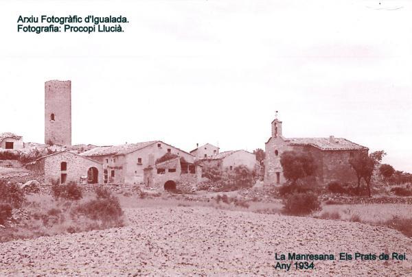 08.03.1934 Vista de la Manresana  La Manresana -  Procopi Llucià