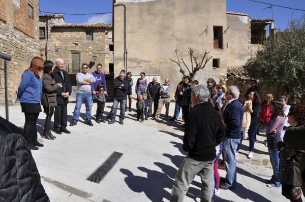 09.03.2013 inauguració dels treballs de millora dels carrers  El Llor -  Juanjo Coloma