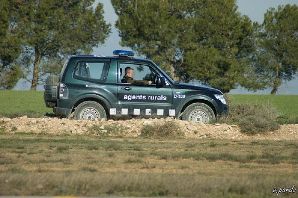 Els Agents Rurals vetllen per l'acompliment de la prohibició de fer foc en zones forestals -