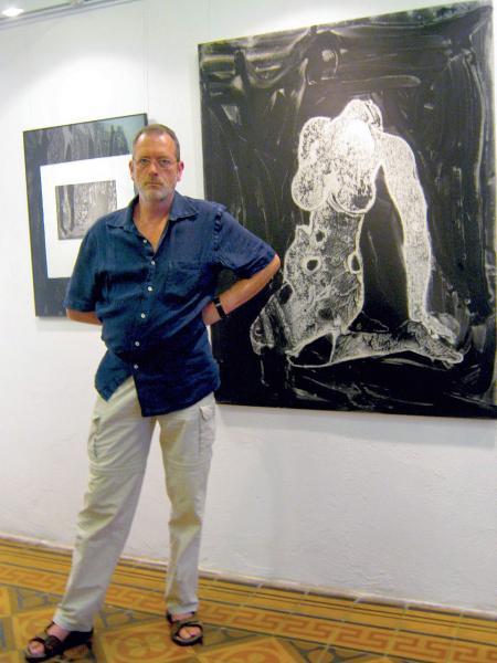 cartell Exposició Reflexions des del 2008 de Ramon Puigpelat - Calaf