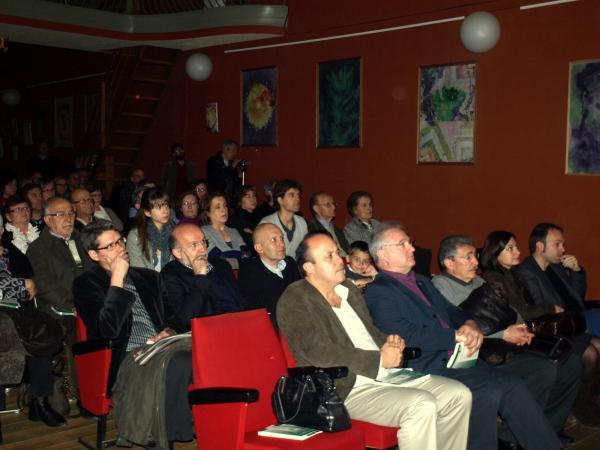 El públic reunit a la Sala Teatre de Ca l'Eril - Guissona