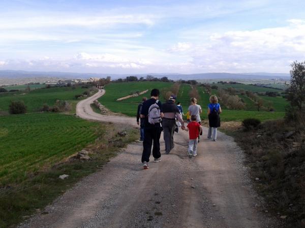 25.03.2013 caminada de Palou a Selvanera i Granollers  Palou -  Ajuntament TiF