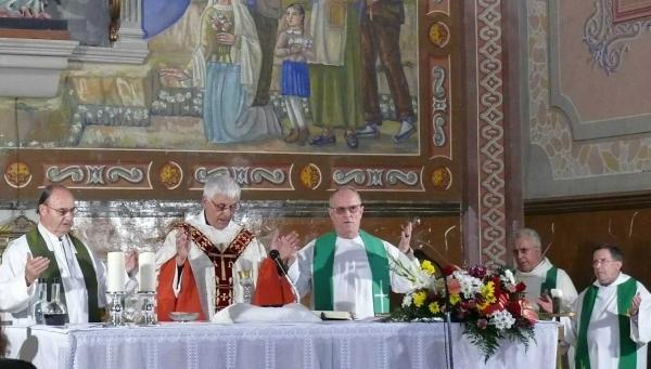 Celebració Noces d'or de Mn. Eduard Ribera - Granyena de Segarra