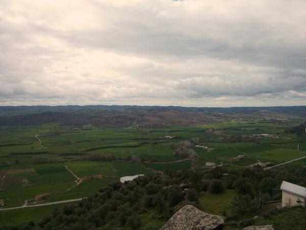 01.04.2013 Vista de la vall del Llobregós  L'Aguda -  Ramon Sunyer