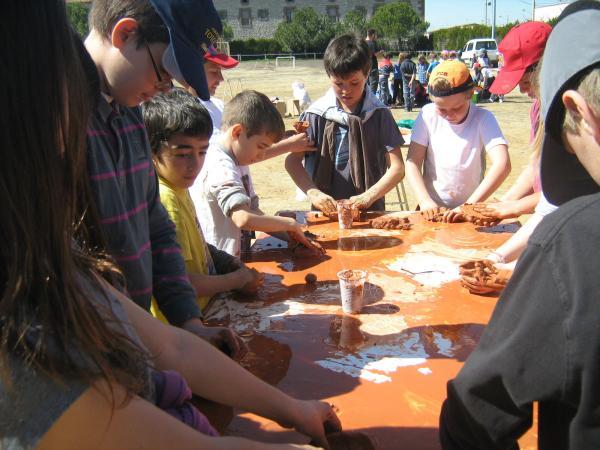 22.03.2013 La trobada de ZER va reunir les escoles de Pallargues, Ribera d'Ondara, Sant Ramon i Sanaüja  Sant Ramon -  CC Segarra