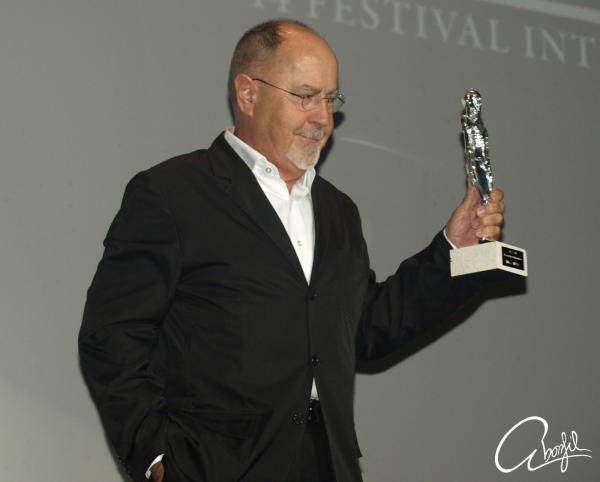 Bigas Lunas amb el premi a ' la María Honorífica' al festival de Sitges 2011 - Sitges