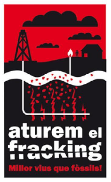 cartell xerrada ATUREM EL FRACKING