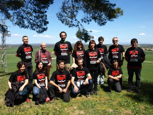 membres de la PAF Darwin, convocants de l'acte - Agramunt