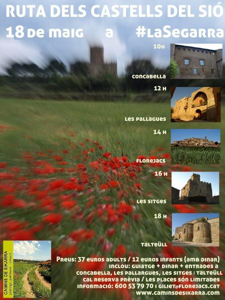 Ruta guiada pels Castells del Sió, 18 de maig
