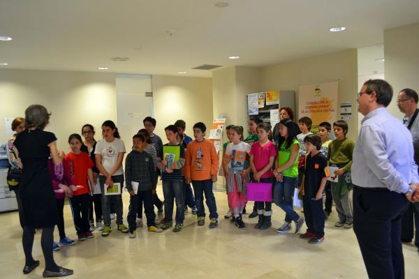 10.04.2013 Els Alumnes visiten el Consell  Cervera -  CC Segarra