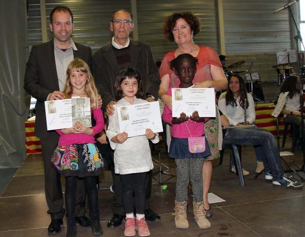 14.04.2013 Entrega dels premis Jordi Pàmies infantil  Guissona -  Ajuntament de Guissona