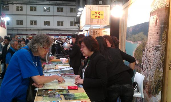 21.04.2013 Estand al Saló Internacional de Turisme de Catalunya  Barcelona -  CC Segarra