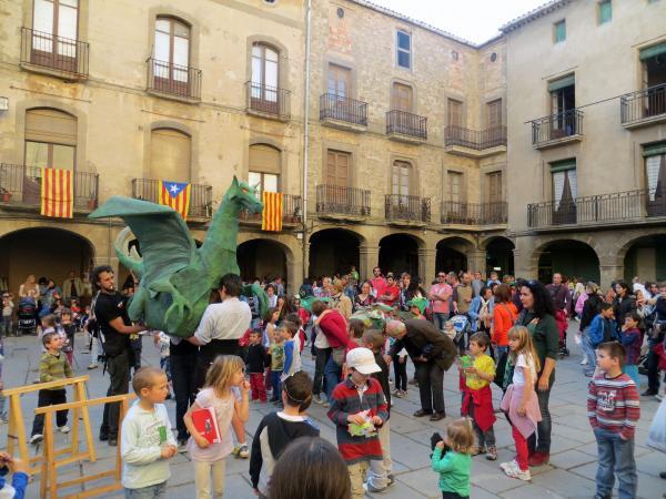 23.04.2013 Activitats per la diada de sant Jordi  Guissona -  Ajuntament Guissona