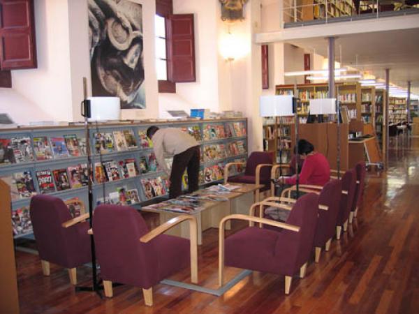 La Biblioteca de Cervera, considerada de referència a Catalunya - Cervera