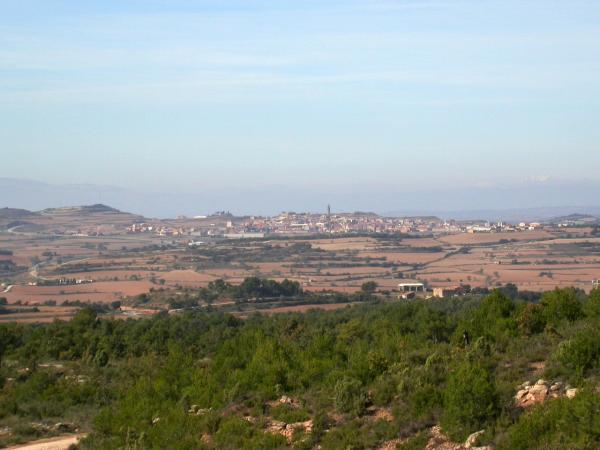 Vista de la zona de Calaf