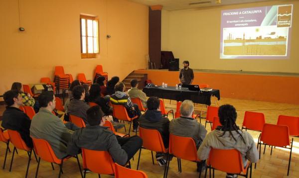 imatge de la xerrada de la PAF a Tarroja de Segarra -