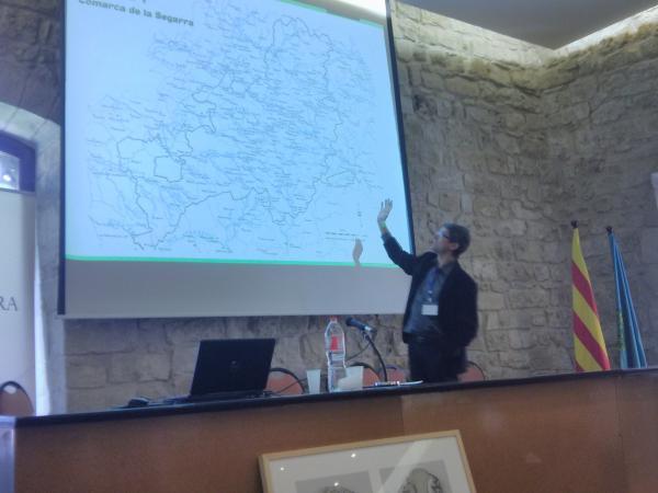 """04.05.2013 Presentació Manifest """"Pel retrobament de l'autèntica Segarra"""" per part d'Albert Turull (Fòrum l'Espitllera)  Santa Coloma de Queralt -  Ramon Sunyer"""