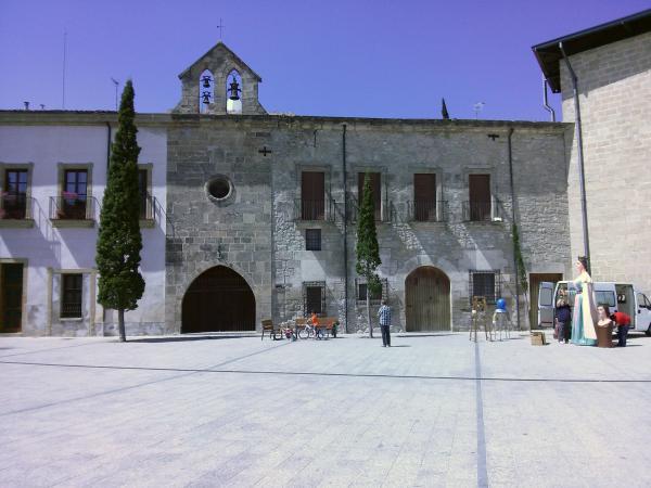 06.05.2013 Església de Santa Magdalena  Santa Coloma de Queralt -  Ramon Sunyer