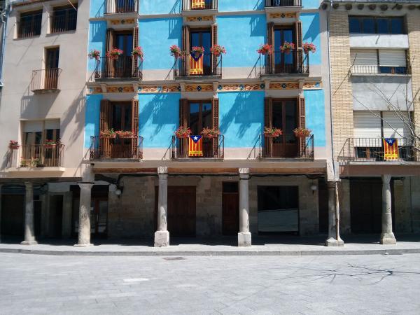 06.05.2013 Plaça Major o de les Eres  Santa Coloma de Queralt -  Ramon Sunyer