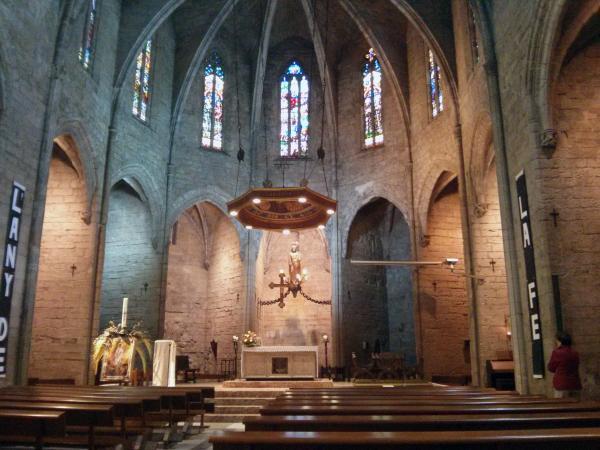 06.05.2013 Església de santa Maria  Santa Coloma de Queralt -  Ramon Sunyer