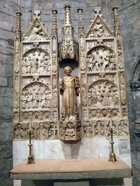 06.05.2013 Retaule de sant Llorenç  Santa Coloma de Queralt -  Ramon Sunyer