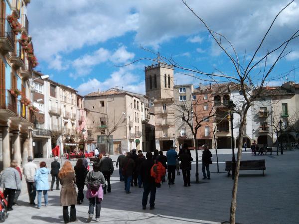 Plaça de sta Coloma - Santa Coloma de Queralt