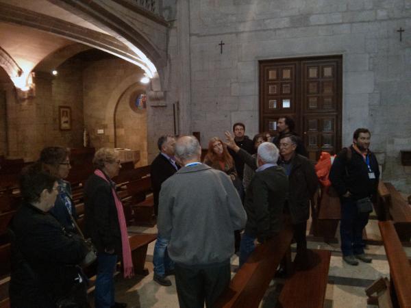06.05.2013 l'església de santa Maria  Santa Coloma de Queralt -  Ramon Sunyer