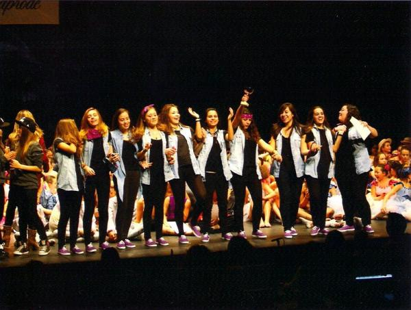 05.05.2013 L'escola de dansa Montse Esteve aconsegueix tres segons premis al concurs Nacional de dansa Anaprode 2013  Tarragona -  Escola Dansa