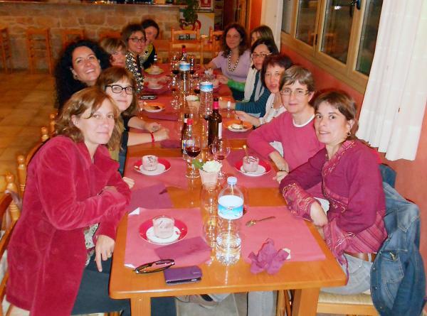 10.05.2013 Sopar de dones al restaurant La Redolta  Florejacs -  Ajuntament de Torrefeta i Florejacs