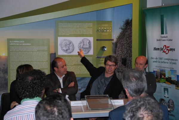intervenció d'Albert Turull, president del Fòrum l'Espitllera - Cervera
